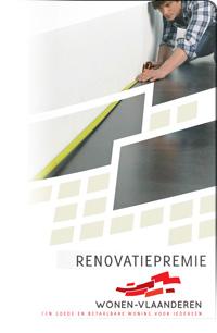 Vlaamse renovatiepremie aanvragen