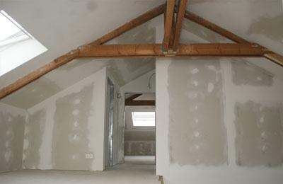 Foto 39 s van een zolderrenovatie op maat jema project bvba - Furbishing een kamer op de zolder ...